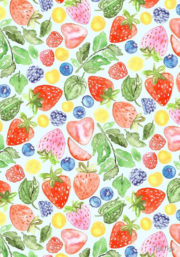 Bright Berries  by TigaTiga