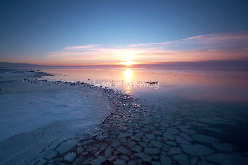 Frozen Shores by Jeanie