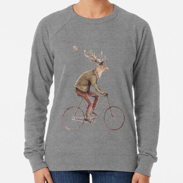 Even a Gentleman rides Lightweight Sweatshirt