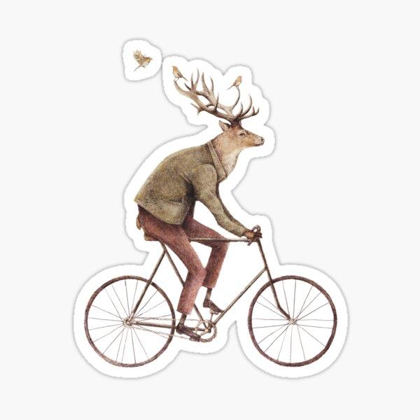 Even a Gentleman rides Sticker