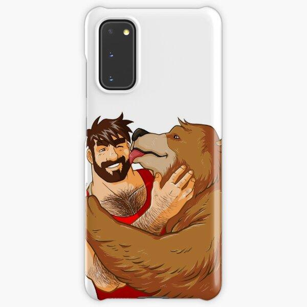 BEAR KISS - NO BACKGROUND Samsung Galaxy Snap Case