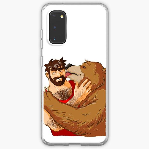 BEAR KISS - NO BACKGROUND Samsung Galaxy Soft Case