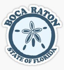 Boca Raton. Sticker