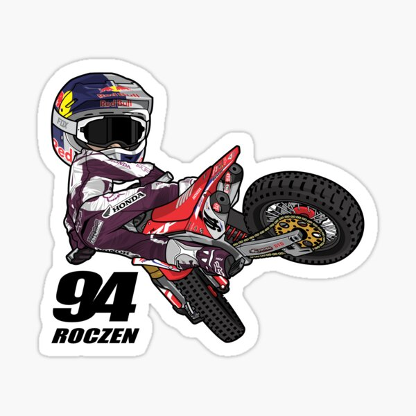 TEAM HONDA HRC MOTOCROSS - KEN ROCZEN Sticker