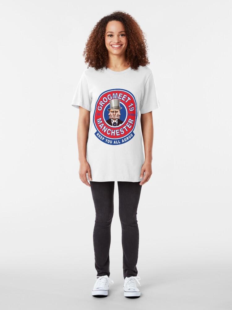 Alternate view of GROGMEET19 PURE BOBBINS Slim Fit T-Shirt