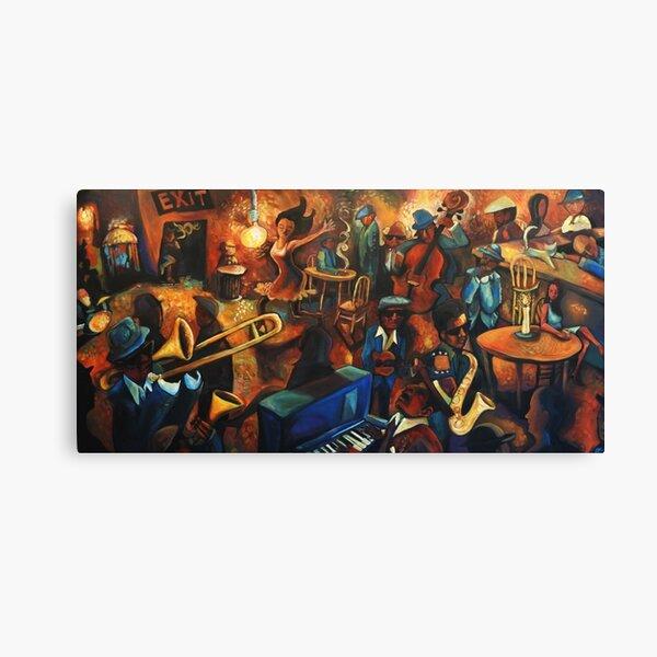 Juke Joint Sizzle Canvas Print