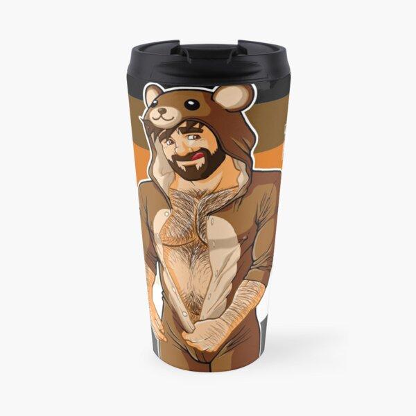 ADAM LIKES TEDDY BEARS - BEAR PRIDE Travel Mug