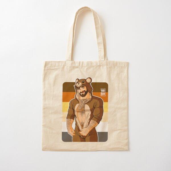 ADAM LIKES TEDDY BEARS - BEAR PRIDE Cotton Tote Bag