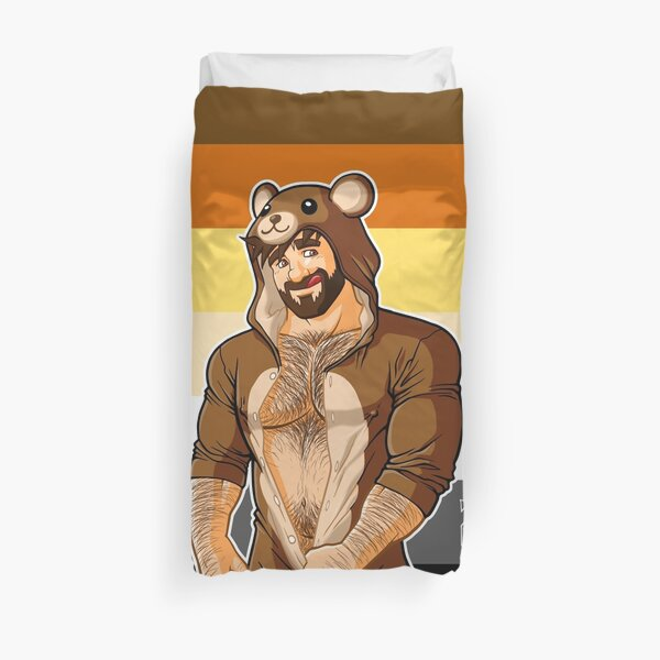 ADAM LIKES TEDDY BEARS - BEAR PRIDE Duvet Cover