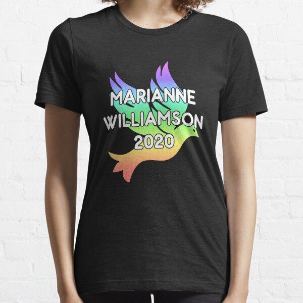 Marianne Williamson For President 2020 Rainbow Dove Essential T-Shirt