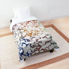 Colorful Doodles Comforter