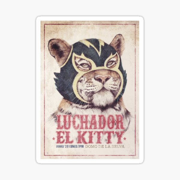 El Kitty Sticker