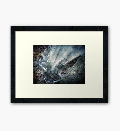 Melt and Re-freeze Framed Print
