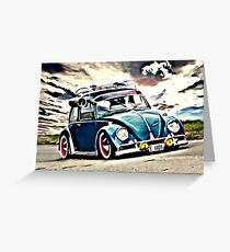 Air cooled Greeting Card