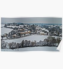 East Worlington in the snow Poster