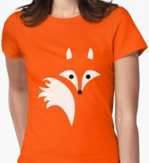Fox Lines Women's Fitted T-Shirt