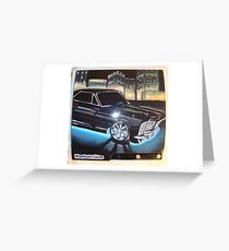 "PS3 ""MIDNIGHT CLUB"" 2 Greeting Card"