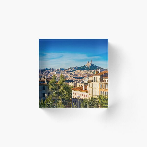 Marseille Acrylic Block