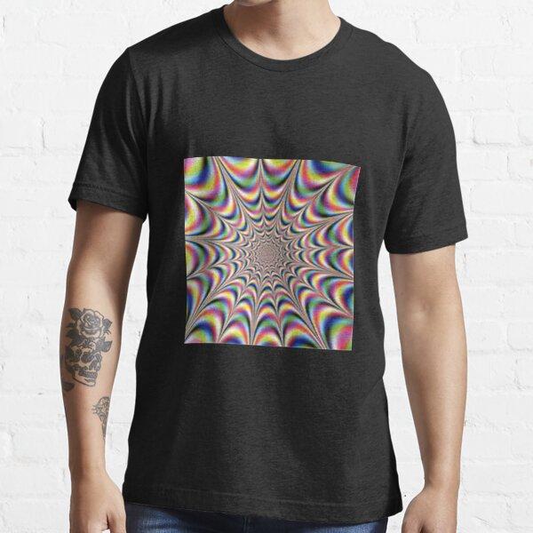 Optical illusion print Essential T-Shirt