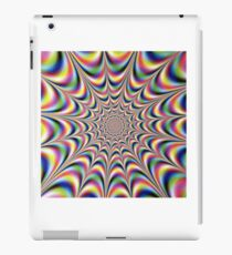 Optical illusion print iPad Case/Skin