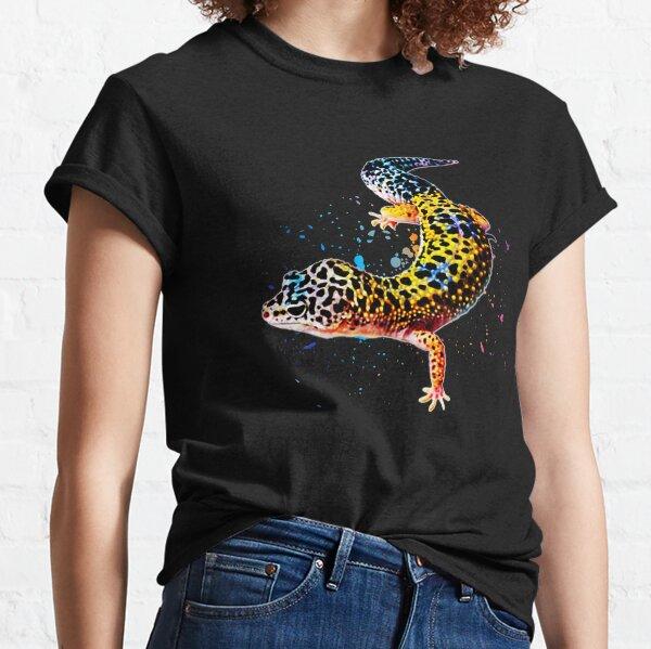 Leopard Gecko Reptile Keeper Lizard Watercolor Classic T-Shirt