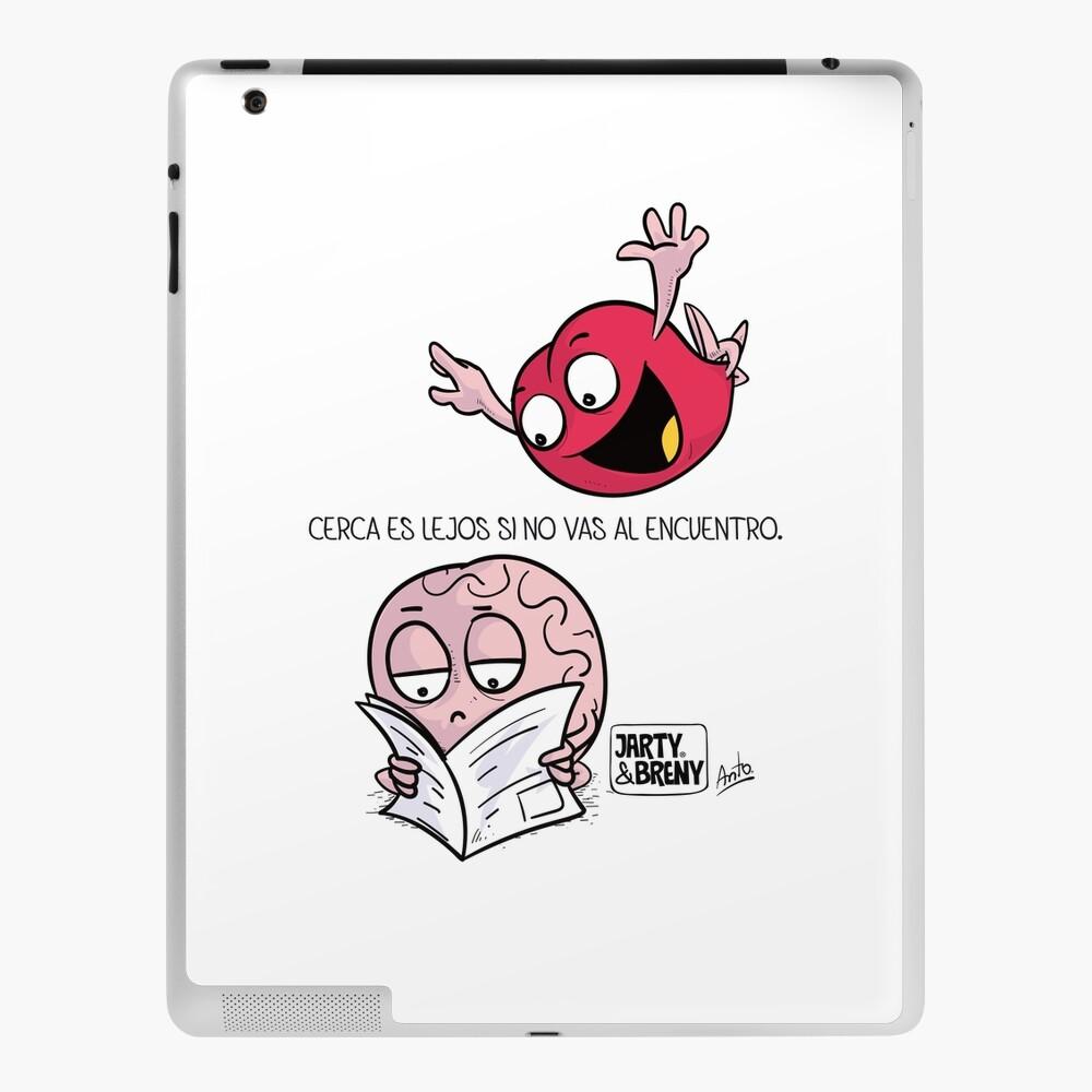 Cerca es lejos Funda y vinilo para iPad