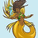 Island Mermaid Gold  by cybercat