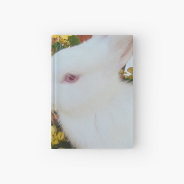 Adorable bunny Hardcover Journal