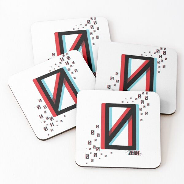 Absolute Zer0 Coasters (Set of 4)