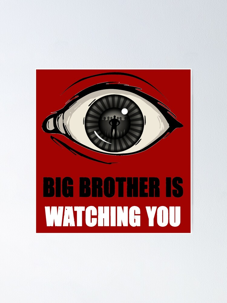 Alternate view of Big Brother Is Watching You Poster