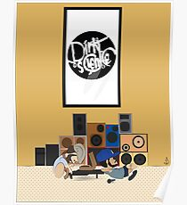 Blu & Exile Peanuts Poster
