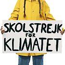 greta thunberg - skolstrejk för klimatet by mavisshelton