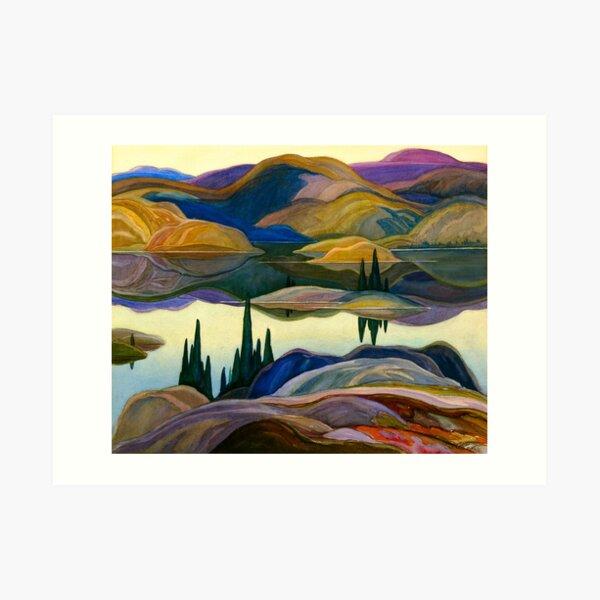 Franklin Carmichael - Mirror Lake Art Print