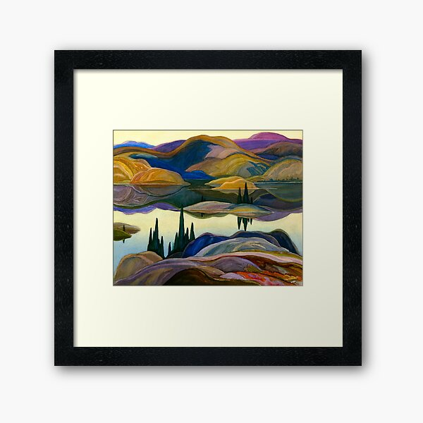 Franklin Carmichael - Mirror Lake Framed Art Print