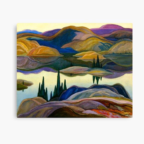 Franklin Carmichael - Mirror Lake Canvas Print