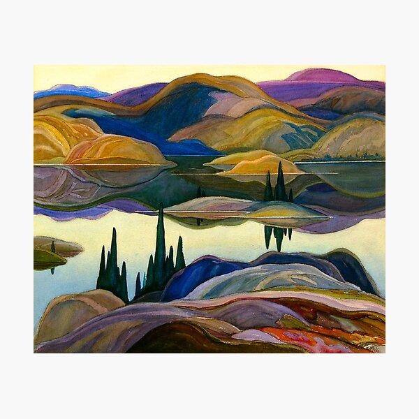 Franklin Carmichael - Mirror Lake Photographic Print
