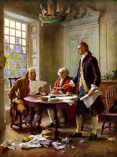 Writing The Declaration of Independence by warishellstore