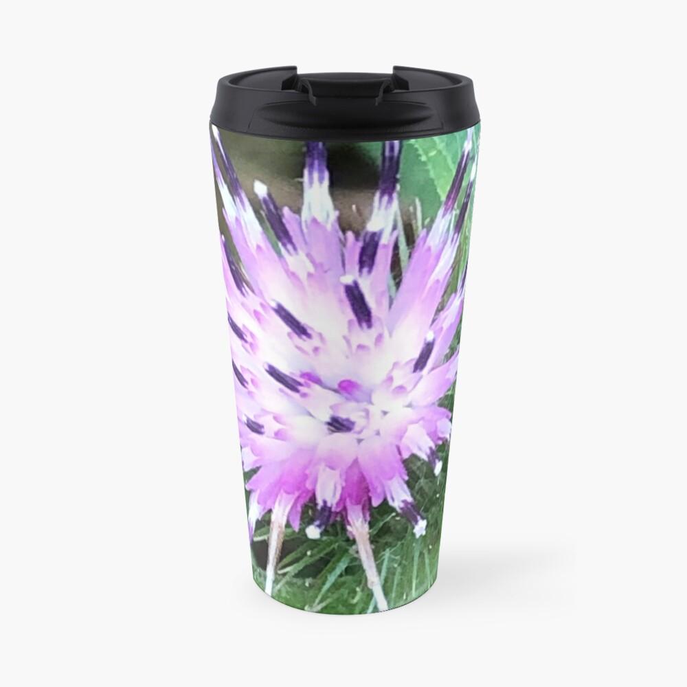 Purple flower, Flowers,  Travel Mug