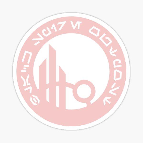 Black Spire Outpost Millennial Pink Sticker