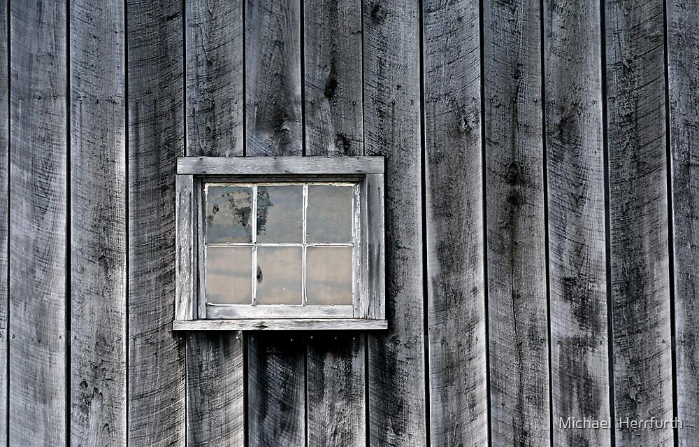 Old Barn Window by Michael  Herrfurth