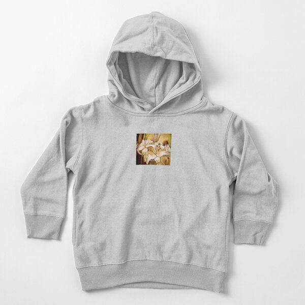 Lilly - original work - oil on canvas by Avril Thomas Toddler Pullover Hoodie