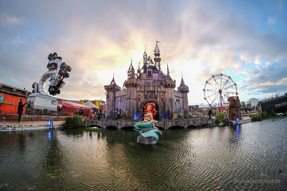 Dismaland Mermaid by dismalandphotos