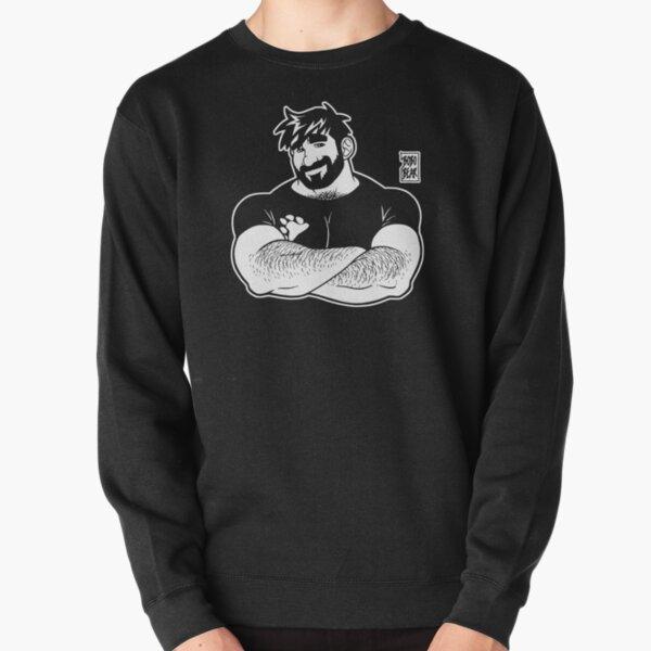 ADAM LIKES CROSSING ARMS - LINEART Pullover Sweatshirt