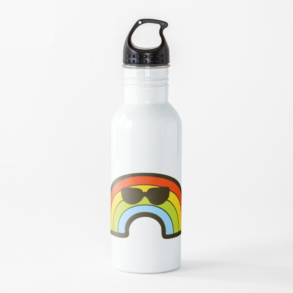 Cool Rainbow Pattern Water Bottle