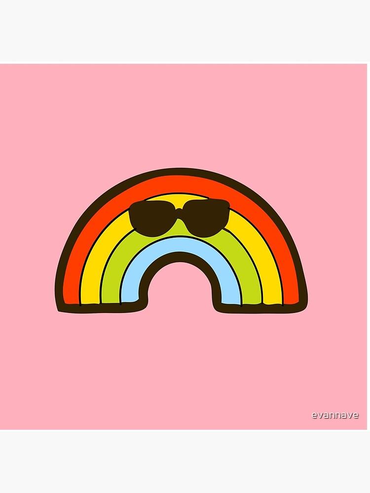 Rainbow Pride Pattern by evannave