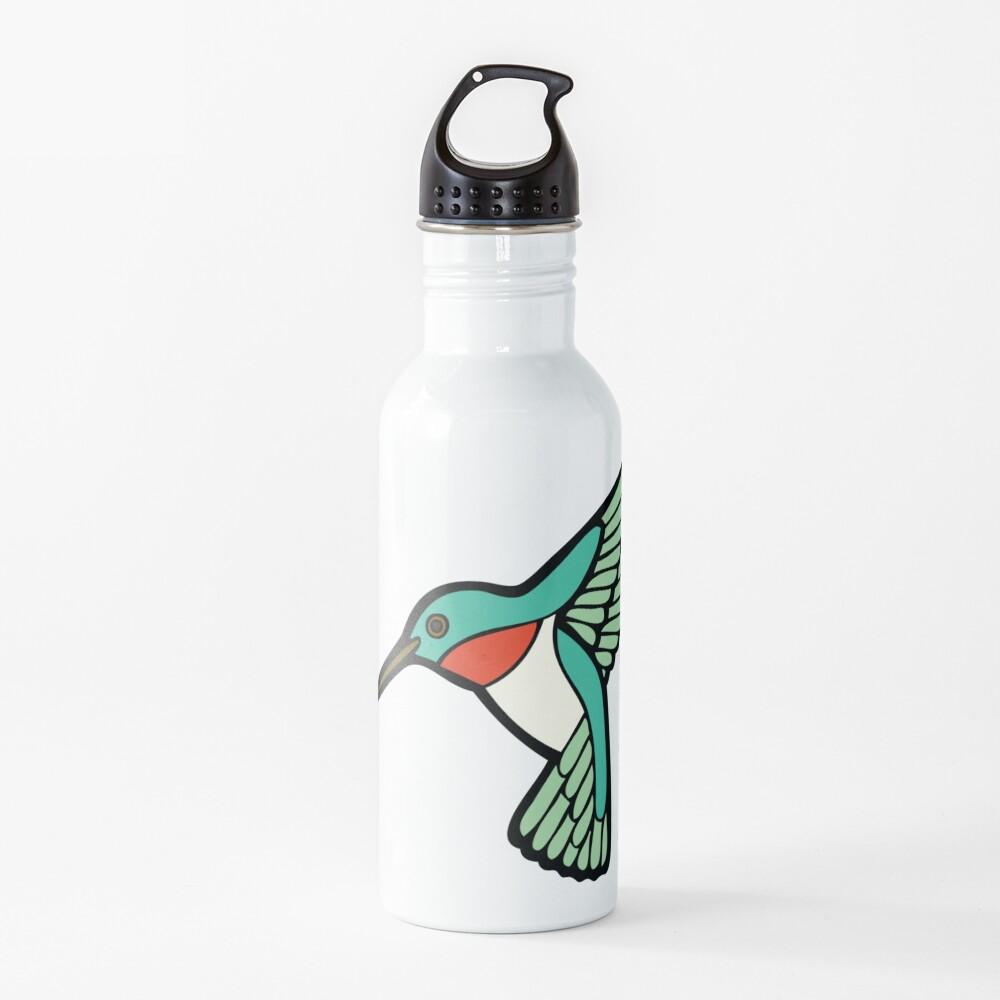 Hummingbird Pattern  Water Bottle