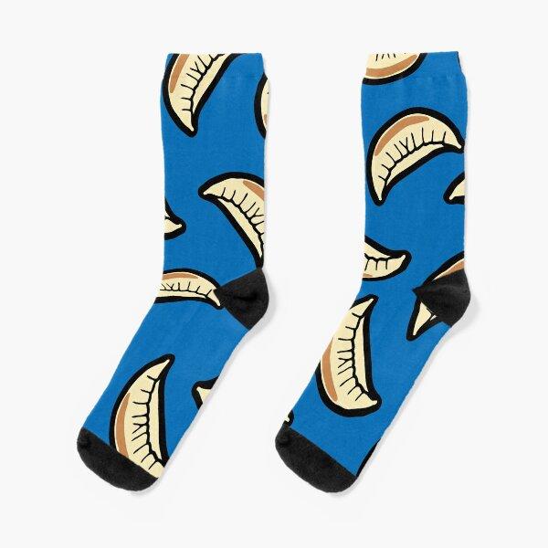 Gyoza Dumpling Pattern Socks