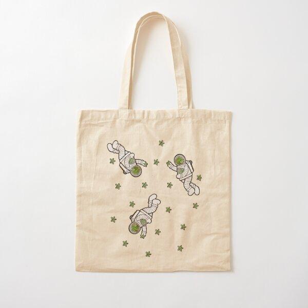 Astro Terrarium Pattern Cotton Tote Bag