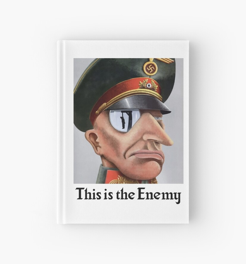 This Is The Enemy -- WWII by warishellstore