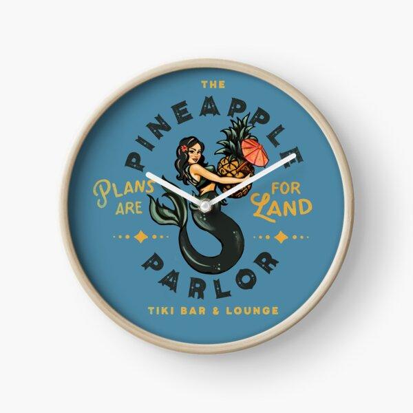 Pinup Girl Mermaid: The Pineapple Parlor Clock